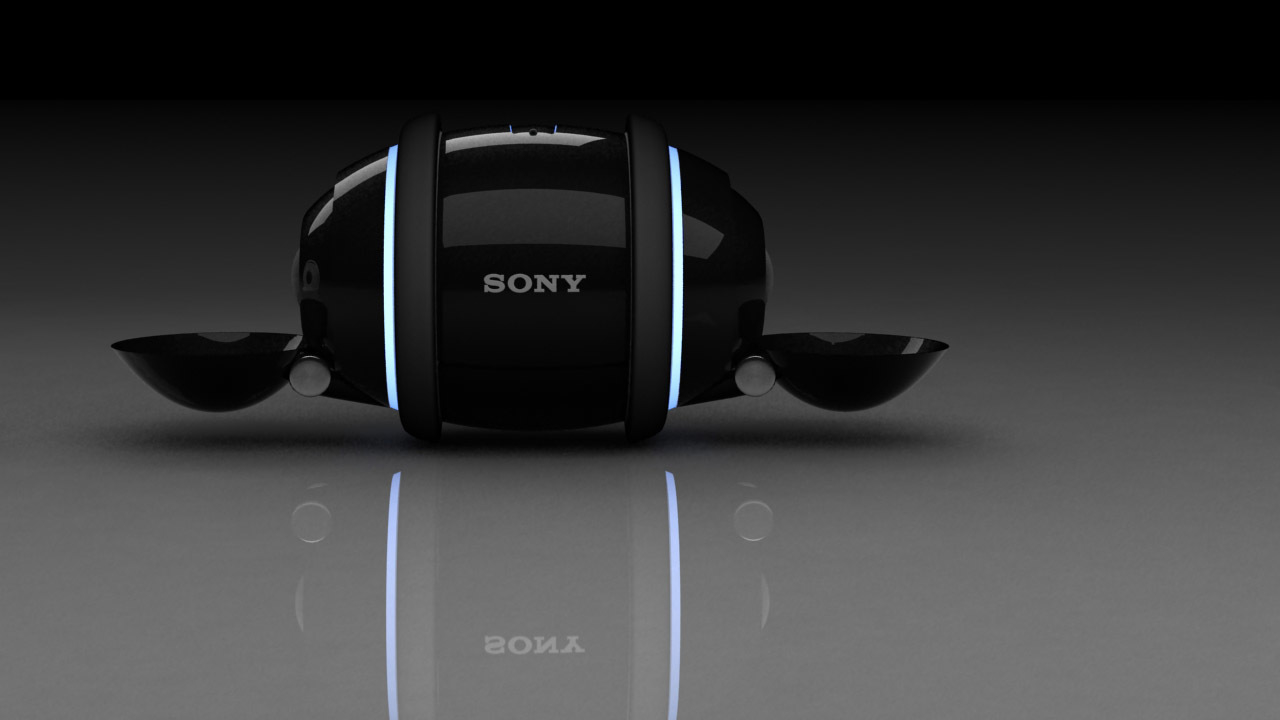Sony Rolly dancing robot MP3 player.